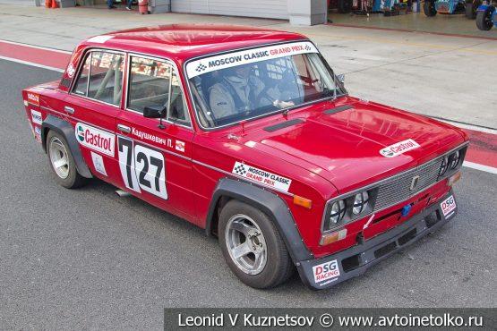 ВАЗ-2106 стартовый номер 27 (727) на Moscow Classic Grand Prix 2018