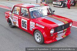 ВАЗ-2101 стартовый номер 95 на Moscow Classic Grand Prix сезона 2018 года