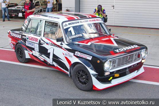 ВАЗ-2101 стартовый номер 1 на Moscow Classic Grand Prix 2018