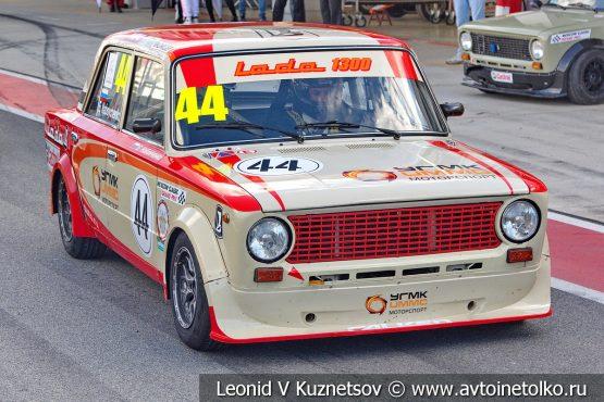 ВАЗ-2101 стартовый номер 44 на Moscow Classic Grand Prix 2018