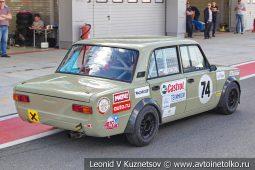 ВАЗ-21013 стартовый номер 74 на Moscow Classic Grand Prix сезона 2018 года