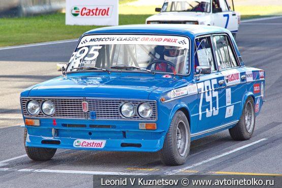 ВАЗ-21063 стартовый номер 795 на Moscow Classic Grand Prix сезона 2018 года