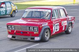ВАЗ-2106 стартовый номер 27 (727) на Moscow Classic Grand Prix сезона 2018 года