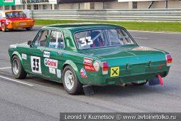 Волга ГАЗ-2410 стартовый номер 33 на Moscow Classic Grand Prix сезона 2018 года