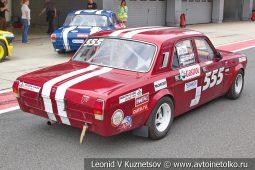 Волга ГАЗ-2410 стартовый номер 555 на Moscow Classic Grand Prix сезона 2018 года