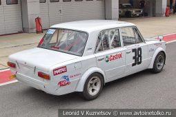 ВАЗ-2101 стартовый номер 38 на Moscow Classic Grand Prix сезона 2018 годаа