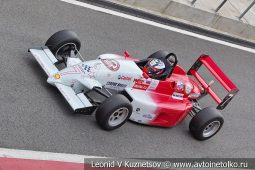 Reynard стартовый номер 7 на Moscow Classic Grand Prix сезона 2018 года