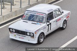 ВАЗ-2106 стартовый номер 77 на Moscow Classic Grand Prix сезона 2018 года