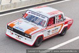 ВАЗ-2105 стартовый номер 72 на Moscow Classic Grand Prix сезона 2018 года