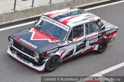 ВАЗ-2101 стартовый номер 1 на Moscow Classic Grand Prix сезона 2018 года