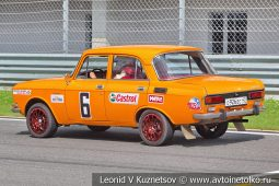 Москвич-21406 стартовый номер 6 на Moscow Classic Grand Prix сезона 2018 года