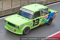 ВАЗ-2105 стартовый номер 13 на Moscow Classic Grand Prix сезона 2018 года
