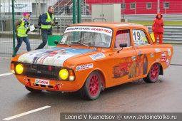 ИЖ-412 стартовый номер 19 на Moscow Classic Grand Prix сезона 2018 года