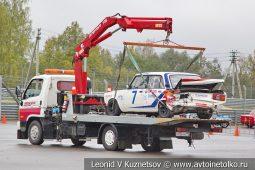 ВАЗ-2105 стартовый номер 7 на Moscow Classic Grand Prix сезона 2018 года
