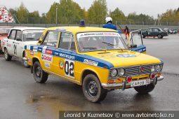 ВАЗ-2103 стартовый номер 02 на Moscow Classic Grand Prix сезона 2018 года