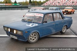 ВАЗ-2105 стартовый номер 53 на Moscow Classic Grand Prix сезона 2018 года