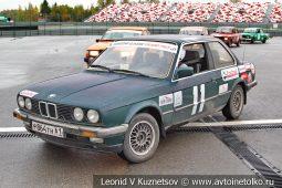 BMW стартовый номер 11 на Moscow Classic Grand Prix сезона 2018 года