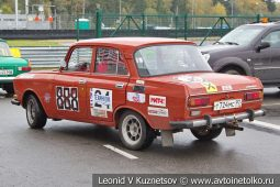 Москвич-2140 стартовый номер 888 на Moscow Classic Grand Prix сезона 2018 года