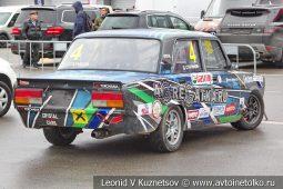 ВАЗ-2107 стартовый номер 4 на Moscow Classic Grand Prix сезона 2018 года