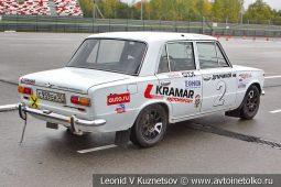 ВАЗ-2101 стартовый номер 2 на Moscow Classic Grand Prix сезона 2018 года