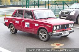 ВАЗ-2106 стартовый номер 788 на Moscow Classic Grand Prix сезона 2018 года
