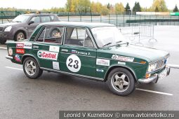 ВАЗ-2103 стартовый номер 23 на Moscow Classic Grand Prix сезона 2018 года