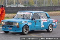 ВАЗ-2106 стартовый номер 7 (17) на Moscow Classic Grand Prix сезона 2018 года