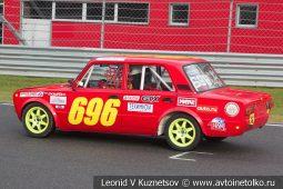 ВАЗ-21013 стартовый номер 696 на Moscow Classic Grand Prix сезона 2018 года