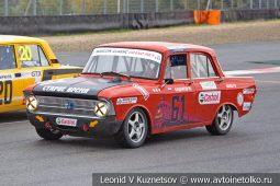Москвич-408 стартовый номер 61 на Moscow Classic Grand Prix сезона 2018 года