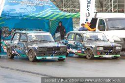 ВАЗ-2105 стартовый номер 5 на Moscow Classic Grand Prix сезона 2018 года