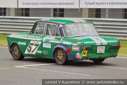 ИЖ-412 стартовый номер 57 на Moscow Classic Grand Prix сезона 2018 года