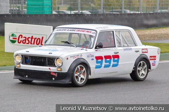 ВАЗ-2101 стартовый номер 999 на Moscow Classic Grand Prix 2018