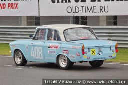 Москвич-412 стартовый номер 408 на Moscow Classic Grand Prix сезона 2018 года