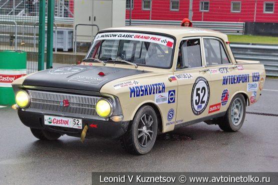 ИЖ-412 стартовый номер 52 на Moscow Classic Grand Prix 2018