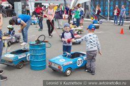 Заезды Дети рулят на первом этапе Moscow Classic Grand Prix 2019