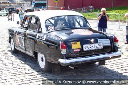 ГАЗ-21 РМК302 Волга №302 на ГУМ Авторалли 2019