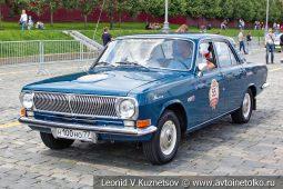 ГАЗ-24 Волга №55 на ГУМ Авторалли 2019