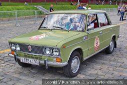 ВАЗ-2103 Жигули №64 на ГУМ Авторалли 2019