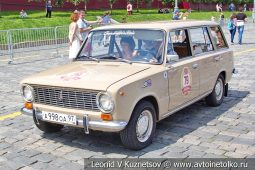 ВАЗ-2102 Жигули №79 на ГУМ Авторалли 2019