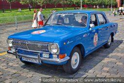 ГАЗ-24 Волга №80 на ГУМ Авторалли 2019