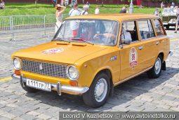 ВАЗ-2102 Жигули №89 на ГУМ Авторалли 2019