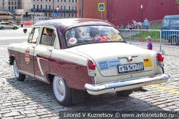 ГАЗ-21 Волга №2810 на ГУМ Авторалли 2019