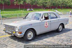 ГАЗ-24 Волга №96 на ГУМ Авторалли 2019