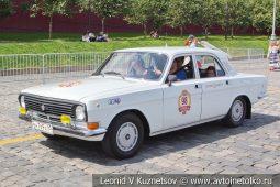 ГАЗ-24-34 Волга №98 на ГУМ Авторалли 2019