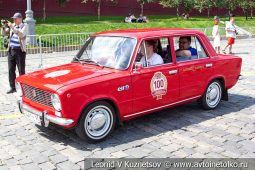 ВАЗ-2101 Жигули №100 на ГУМ Авторалли 2019