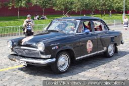 ГАЗ-21 Волга №95 на ГУМ Авторалли 2019