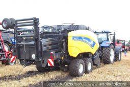 Трактор New Holland T7060 с фронтальным погрузчиком Stoll Profiline FZ60.1 и пресс-подборщиком New Holland Bigbaler 1290 Plus на Агро Ралли 2019