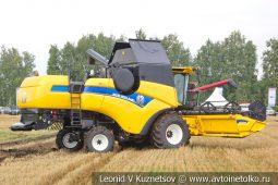 Комбайн New Holland CX8.80 собранный в России на Агро Ралли 2019