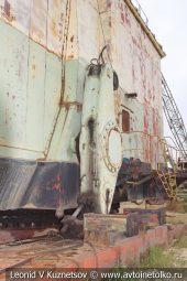 Шагающий экскаватор драглайн ЭШ-1170 в карьере №12 АО Кварцит в Воскресенском районе