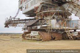 Экскаватор абзетцер Takraf ERs 710 в карьере №12 АО Кварцит в Воскресенском районе